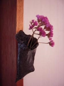 壁掛け花器1
