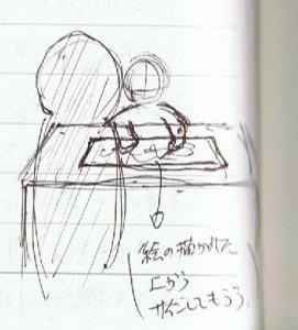三島氏からサイン