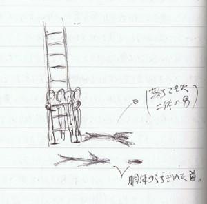 転落した2人の男