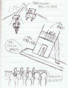 矢沢さんのストリートライブ