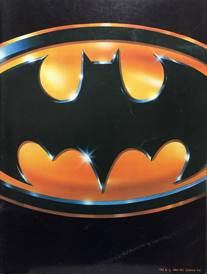 (映画パンフレット)『バットマン』