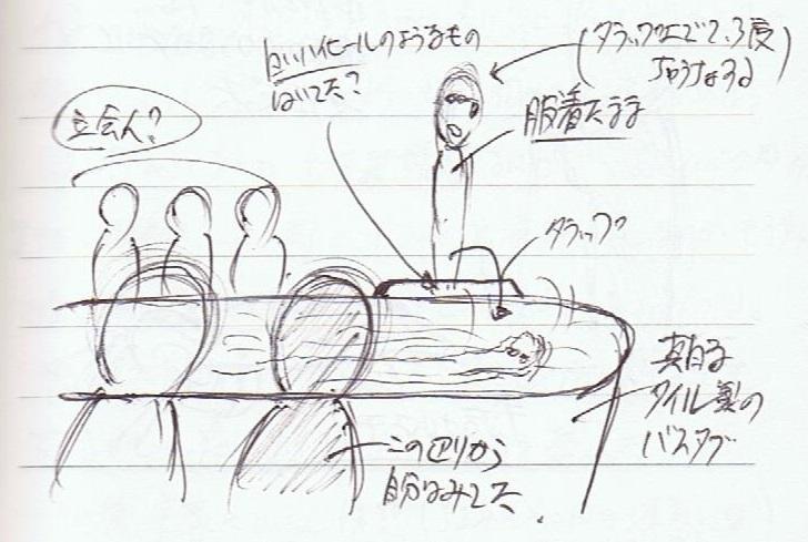 <夢占い>タモリさんの熱闘風呂
